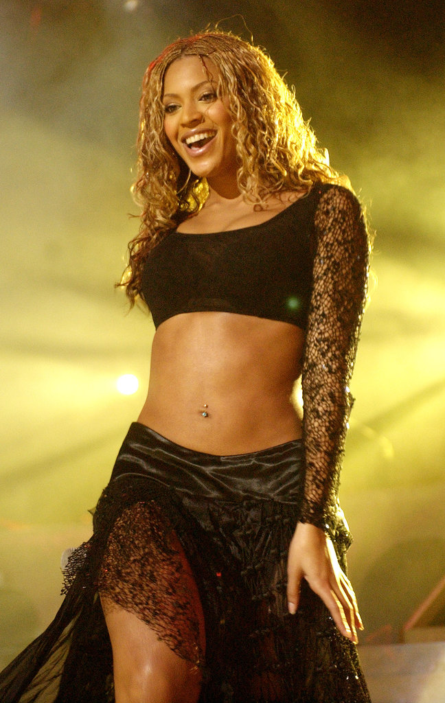 Beyoncé Knowles stole the show at NYC's Z100 Jingle Ball in December 2002.