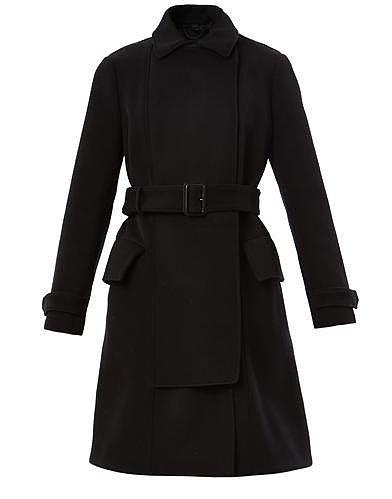 Burberry Prorsum Bonded wool cavalry coat
