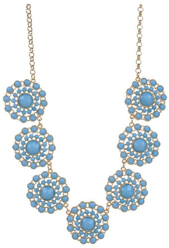 Style Tryst Floral Beaded Statement Necklace
