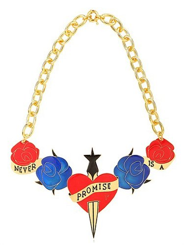 """Maria Francesca Pepe - """"Never Is A Promise"""" Necklace"""