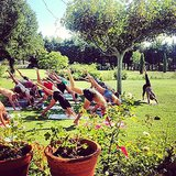 This is a great way to spend a birthday party! Source: Instagram user yoga_girl