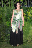 Teresa Missoni's gown was a dramatic choice for Vanity Fair's Venice party.