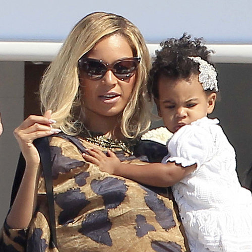 Beyonce and Jay Z With Blue Ivy Carter in Ibiza