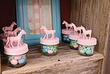 Pony-Topped Candy Jars