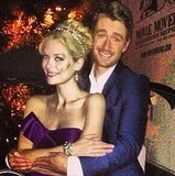 While filming Hart of Dixie, Jaime King struck her best prom pose.  Source: Instagram user jaime_king