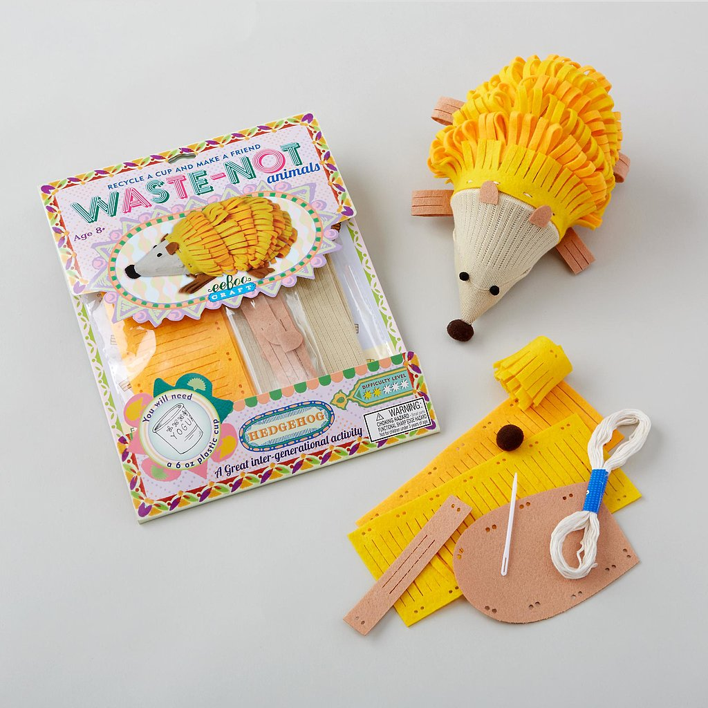 Kid Crafts: The Land of Nod Waste Not Animal Kit
