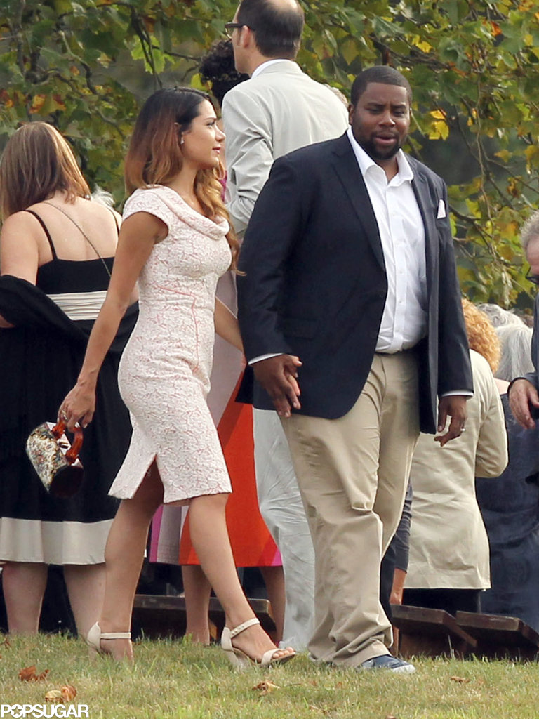 Kenan Thompson was a guest at Seth Meyers's wedding.