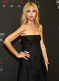 Rachel Zoe gave a glimpse of her growing baby bump.