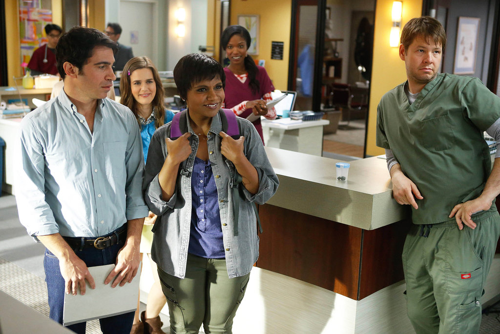 Chris Messina returns to the office on the season premiere of The Mindy Project.