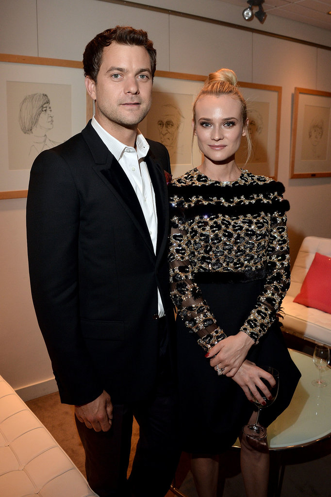 Diane Kruger and her boyfriend, Joshua Jackson, stayed close by one another at the Inescapable premiere at the 2012 festival.