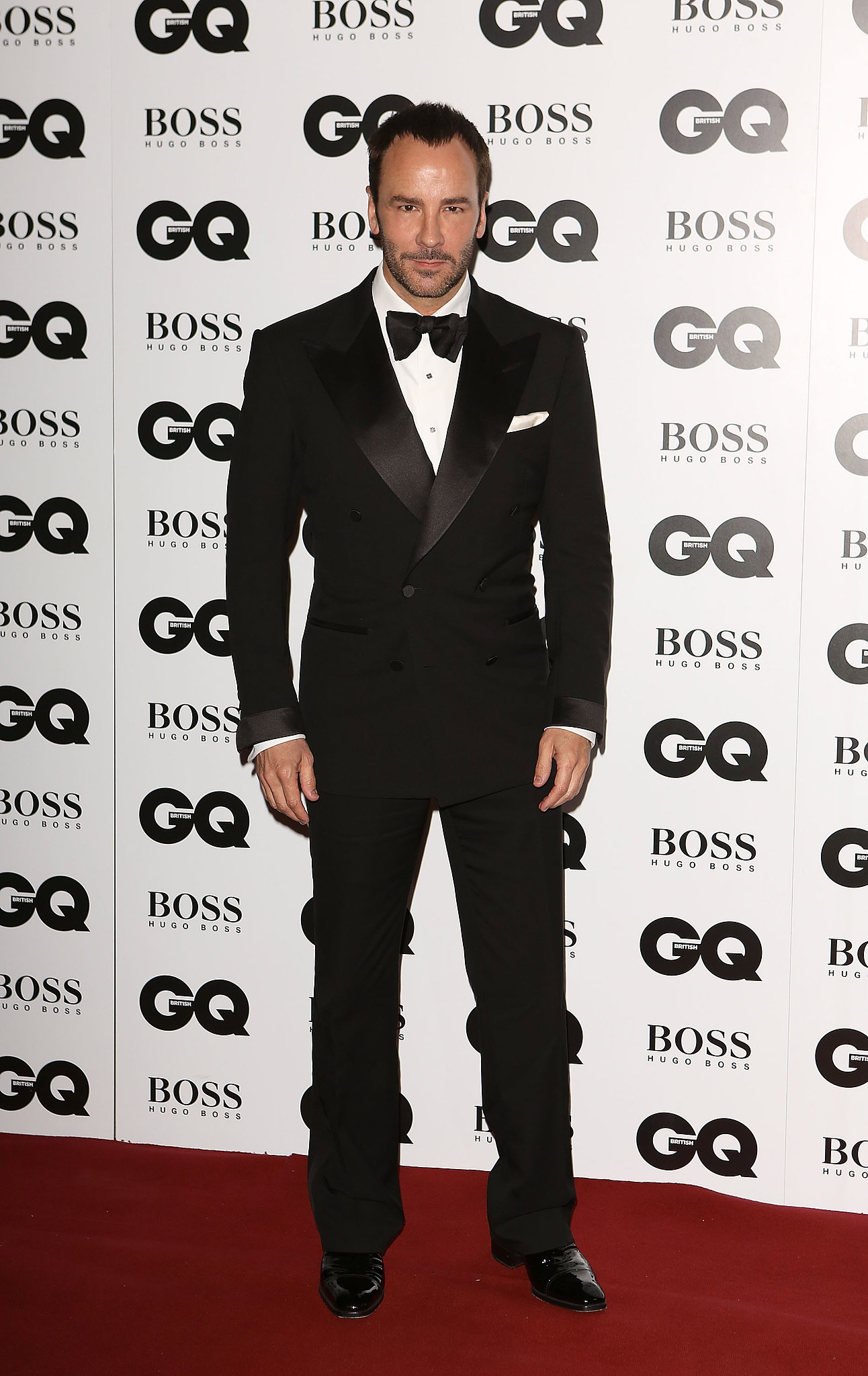 tom ford looked classic in his suit and tie while at the. Black Bedroom Furniture Sets. Home Design Ideas