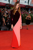 Elisa Sednaoui made a bold statement in Stella McCartney at the Venice Film Festival Under the Skin premiere.