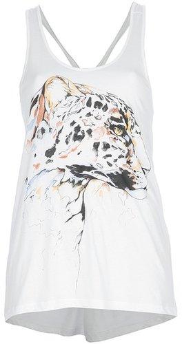 Stella Mccartney leopard print vest