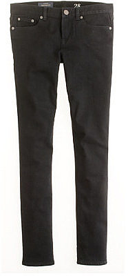 Toothpick jean in pitch black wash