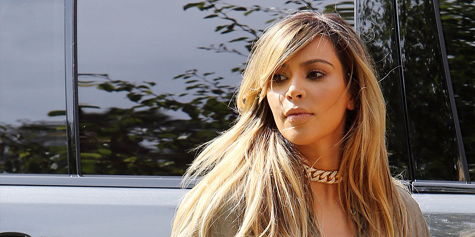 Kim Kardashian Is Now a Blonde!