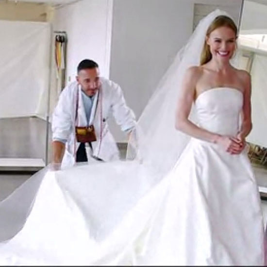 Kate Bosworth Oscar de la Renta Wedding Dress Fitting