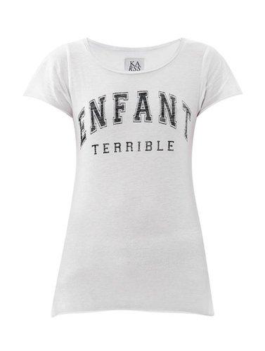 Zoe Karssen Enfant terrible-print T-shirt