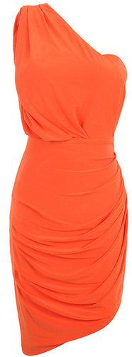 'Kara' Drape Jersey Bodycon Dress
