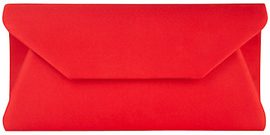 Alexon Envelope Clutch, Red