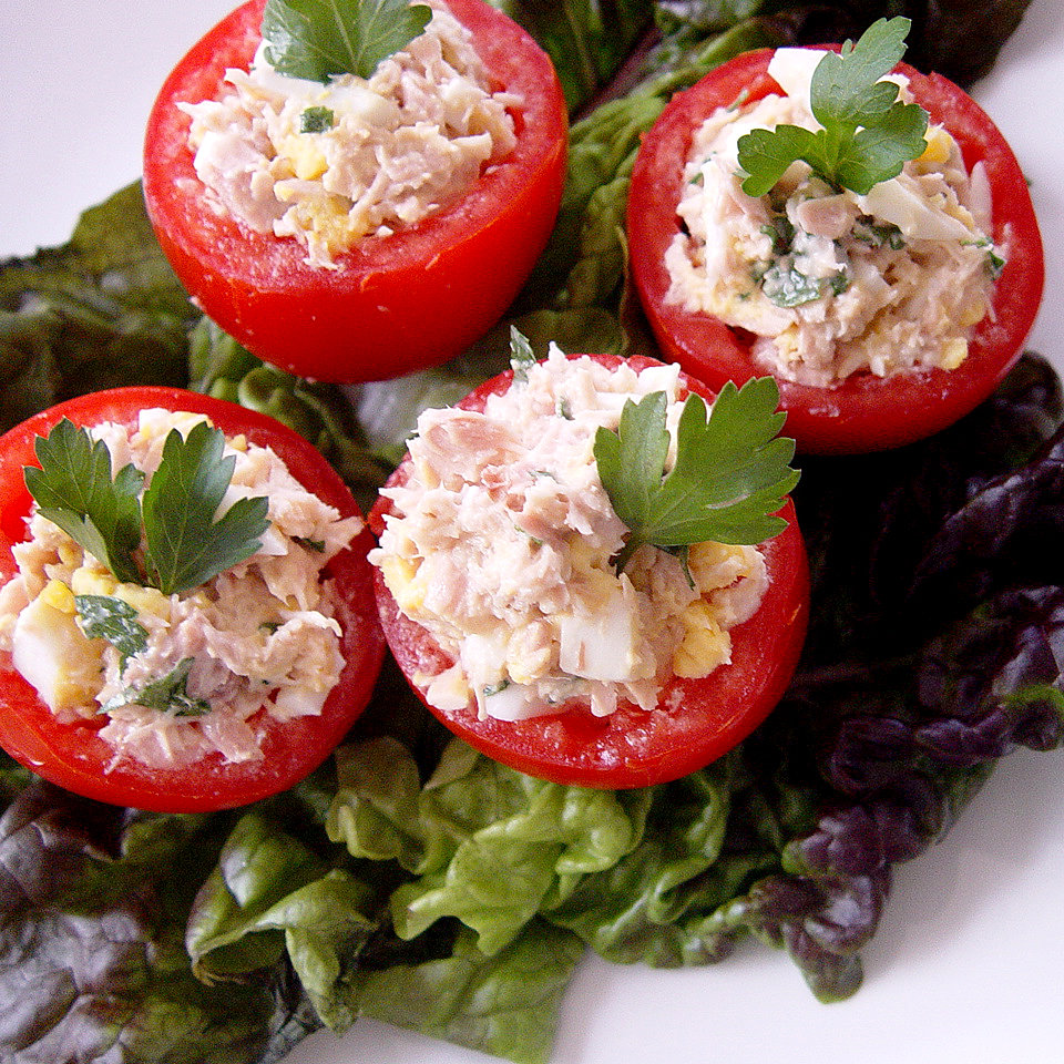 Tuna-Stuffed Tomatoes