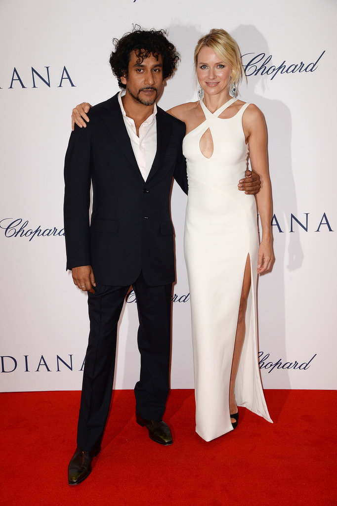 Naomi Watts and Naveen Andrews posed together on the red carpet.