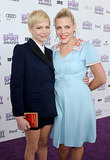 Michelle Williams and Busy Philipps paired up at the 2012 Film Independent Spirit Awards in LA.