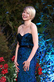 Michelle Williams was all smiles at the European premiere of Oz the Great and Powerful in London in February 2013.