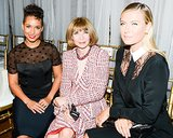 Anna Wintour got the company of Alicia Keys and Maria Sharapova at Jason Wu's show.