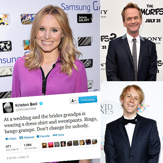 Tweets of the Week: Kristen Bell, Neil Patrick Harris, Josh Thomas & More!