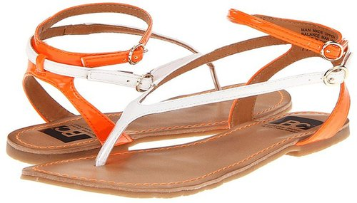 BC Footwear - Fun and Games (White/Orange) - Footwear