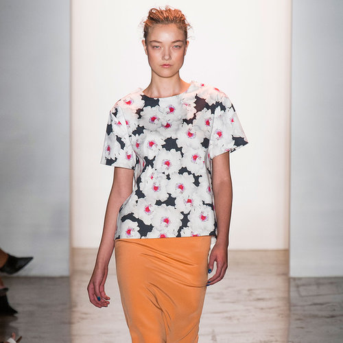 2014 Spring New York Fashion Week Runway Peter Som