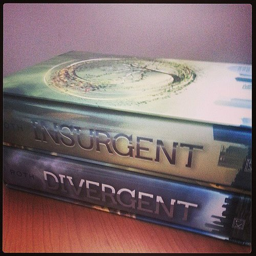 Chellersn dove into the Divergent trilogy.