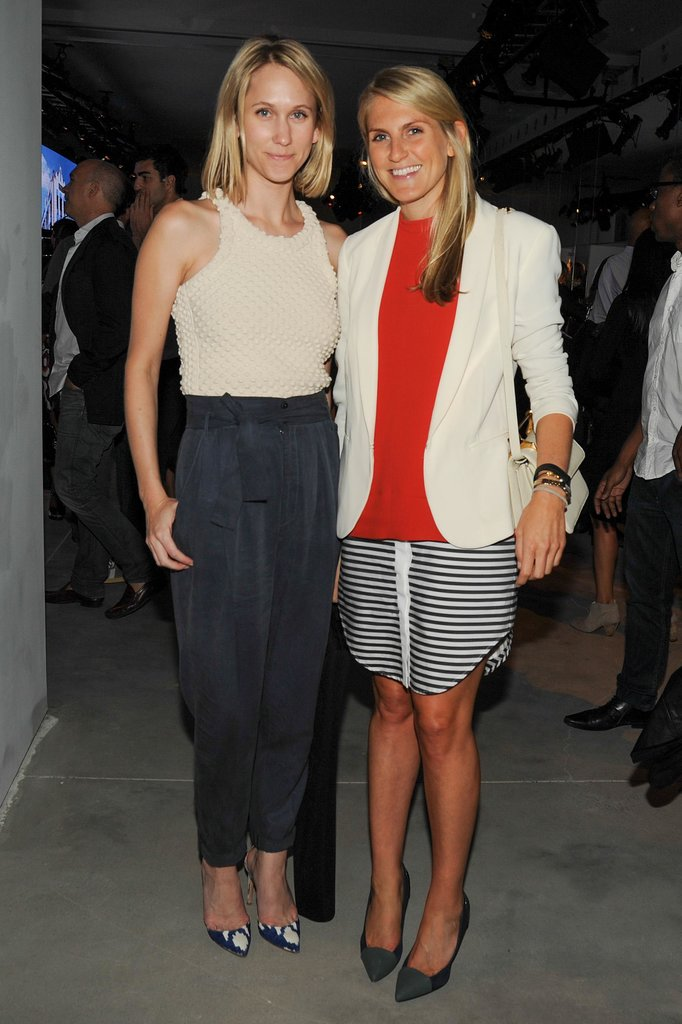 Indra Rockefeller and Hayley Bloomingdale paired separates with Phillip Lim at his Target launch.