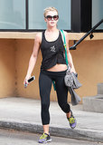Julianne Hough is becoming quite the regular at the Tracy Anderson Method in Los Angeles. Julianne's been spotted there on a weekly basis the entire Summer!