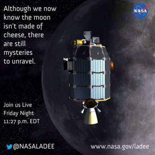 NASA Moon Mission LADEE