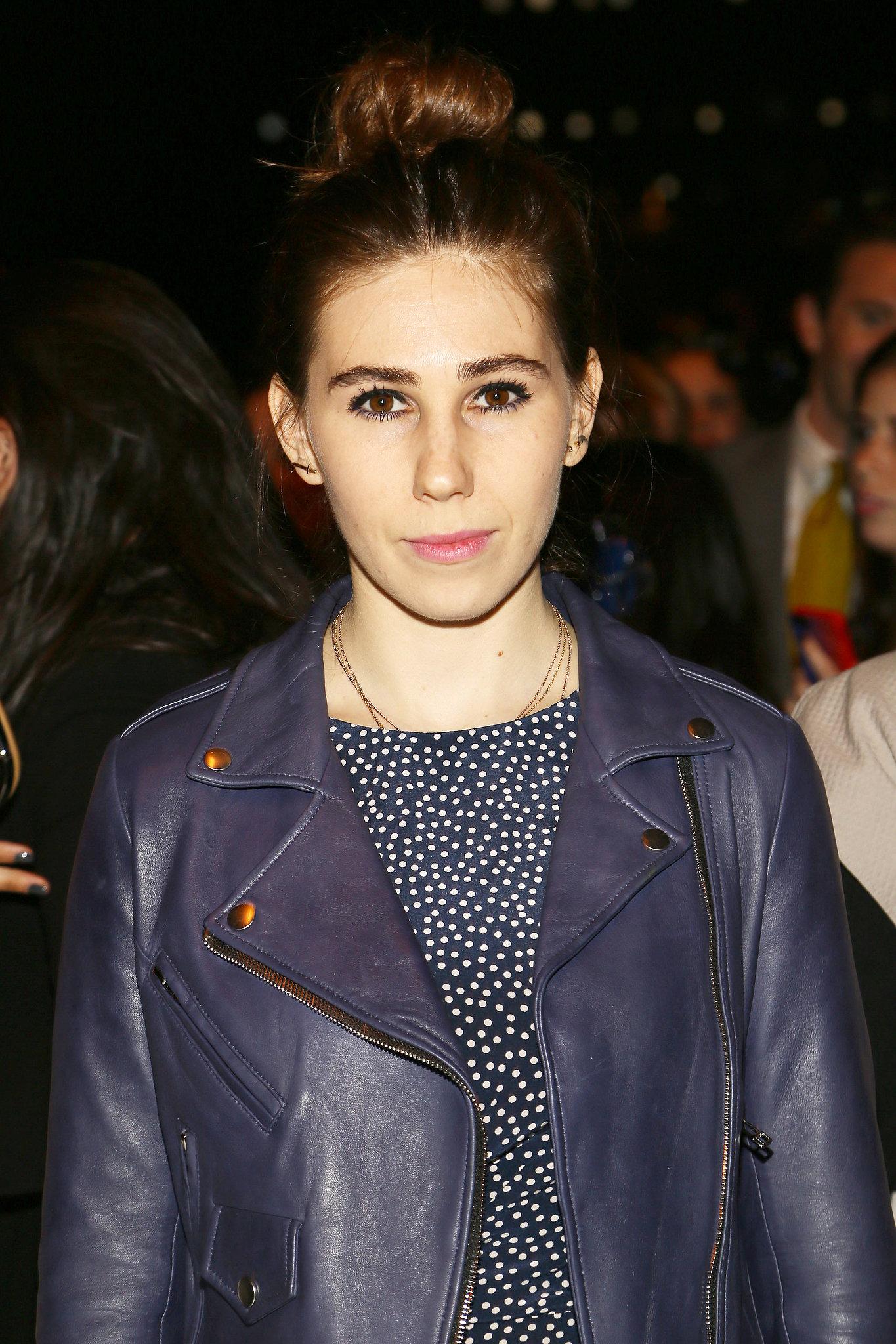 Zosia Mamet at Rebecca Minkoff Spring 2014.
