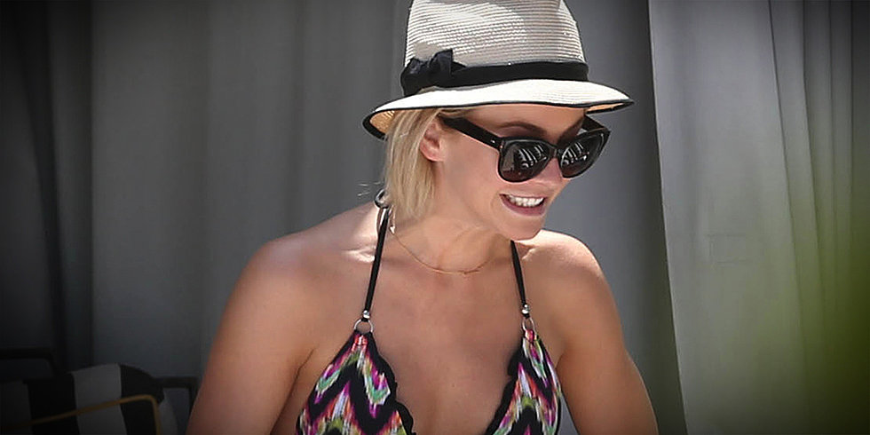 Julianne Hough's Trainer Spills the Star's Bikini Secrets