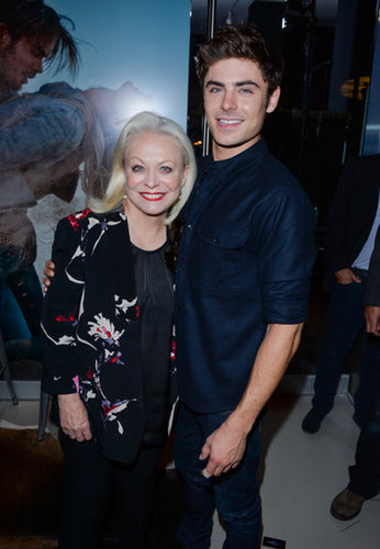 Zac Efron got close to his costar Jacki Weaver.