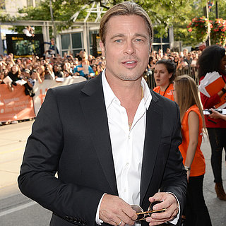 Brad Pitt at 12 Years a Slave Screening in Toronto