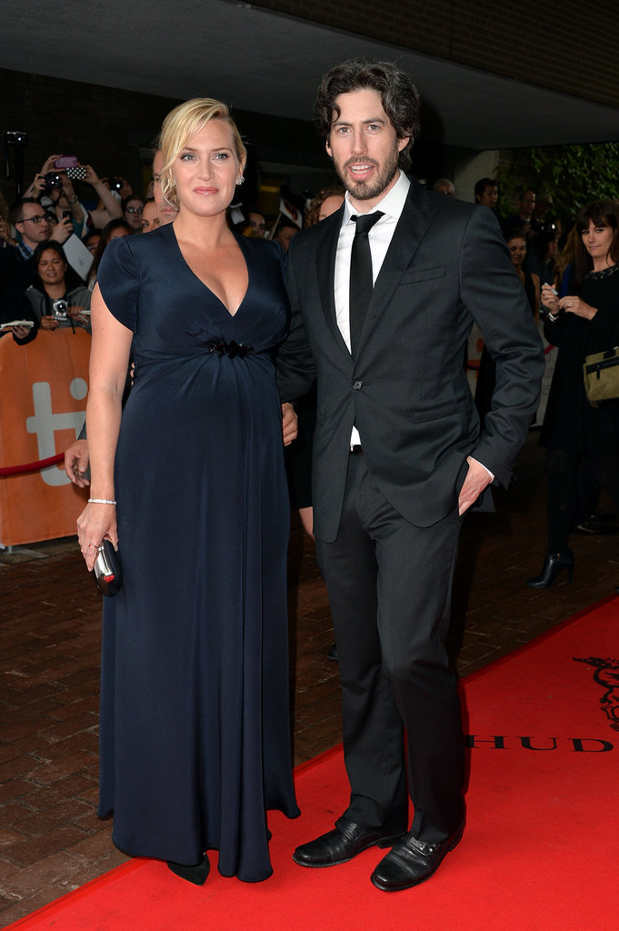 Kate Winslet hit the red carpet with Labor Day director Jason Reitman.