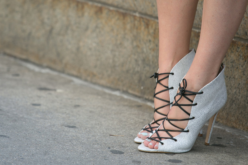 Clearly, lace-ups are having a moment.