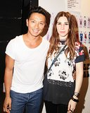 Prabal Gurung got a little help from his friends, including Zosia Mamet, at his Spring show.