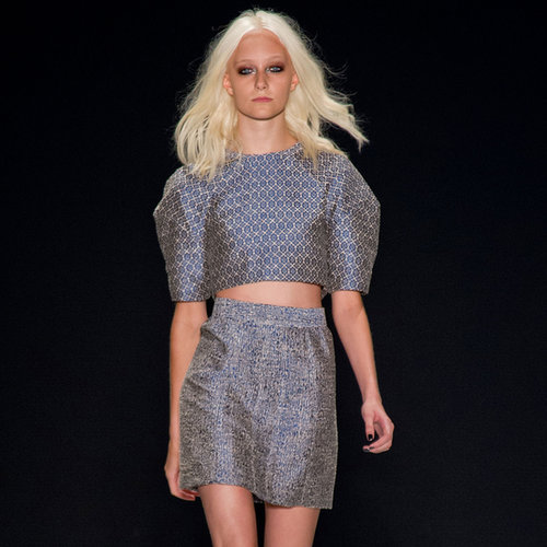 2014 Spring New York Fashion Week Runway Jill Stuart