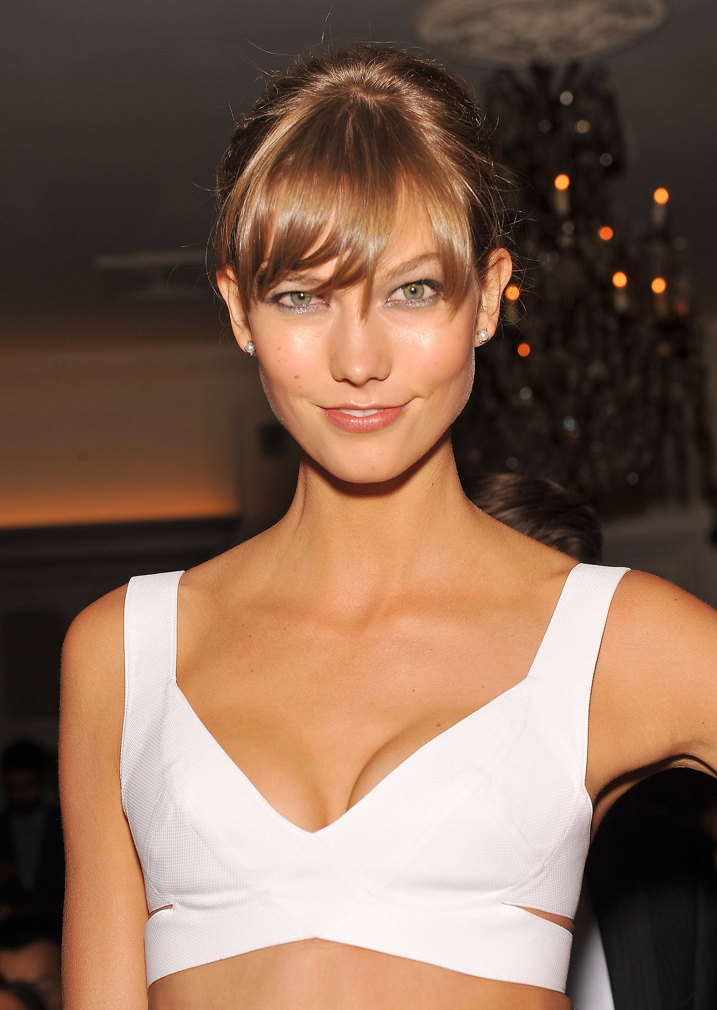 Karlie Kloss at Daily Front Row's Fashion Media Awards.