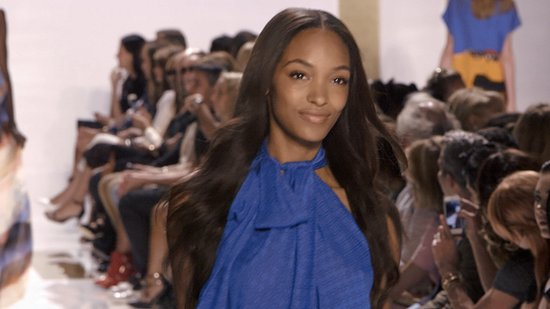 "Jourdan Dunn's Backstage Style Advice: ""Keep It Comfy — Keep It Cute"""