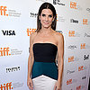 Sandra Bullock Promoting Gravity at 2013 TIFF