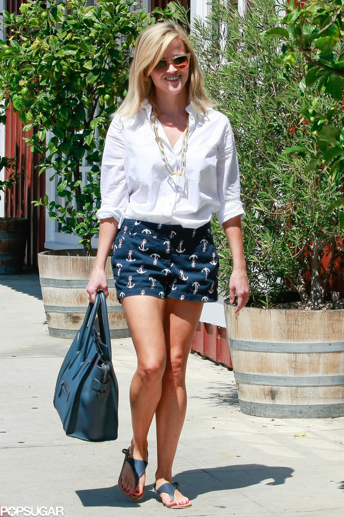 Reese Witherspoon Steps Out With Tennessee and His Sweet Sister, Ava