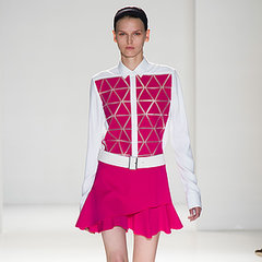 2014 Spring New York Fashion Week Runway Victoria Beckham