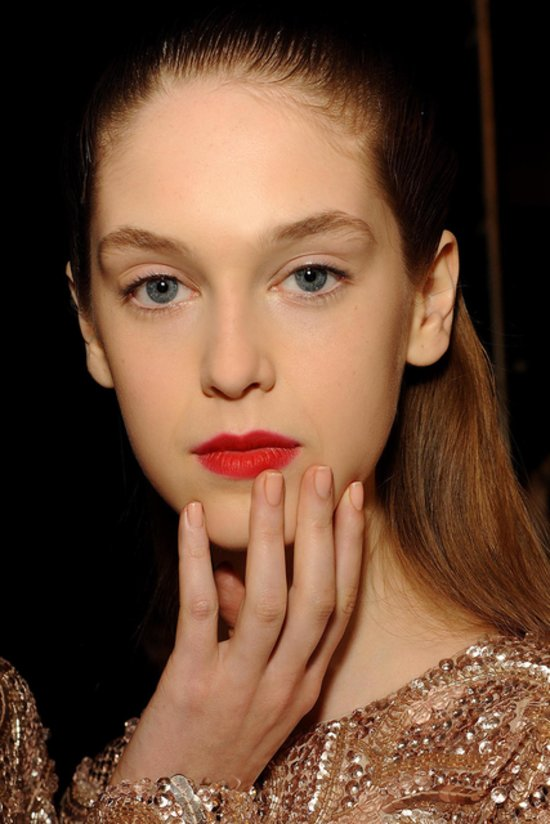 Monique Lhuillier Spring 2014 nails