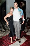 Cameron Silver and Selma Blair celebrated Christian Siriano's Spring 2014 collection together.